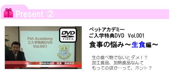 入学キャンペーンプレゼントその2(vol.001)