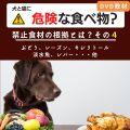 犬と猫に危険な食べ物?4